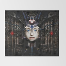 THE ORACLE Throw Blanket