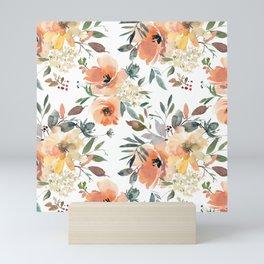Peachy Keen Pattern Mini Art Print