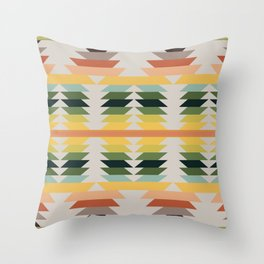 American Native Pattern No. 207 Throw Pillow