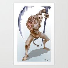 Creature Design Art Print