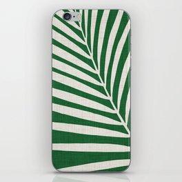 Minimalist Palm Leaf iPhone Skin