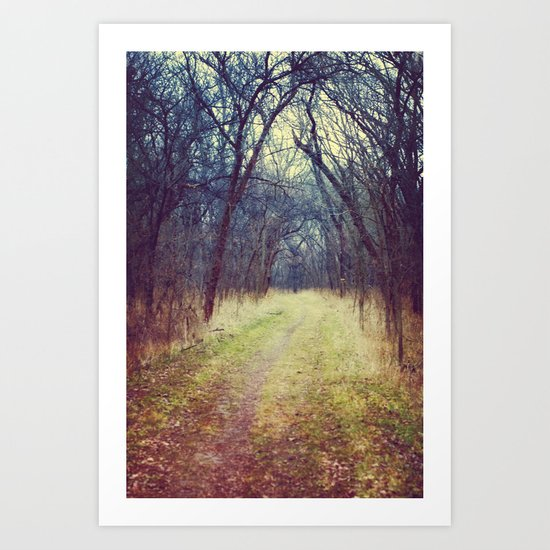 The Woods Are Lovely, Dark and Deep...  Art Print