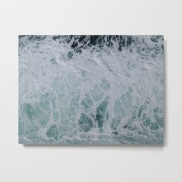 Wonderful Waves Metal Print