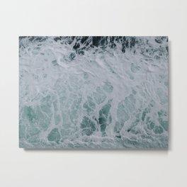 Wonderful Waves Metal Print