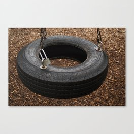 The Lonely Tire Canvas Print