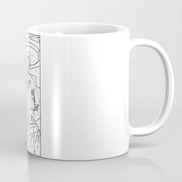 Swine Flu Paint-By-Numbers Coffee Mug