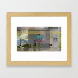 The Cross Framed Art Print