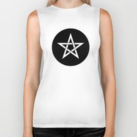 pentagram Biker Tanks featuring Pentagram Ideology by ideology