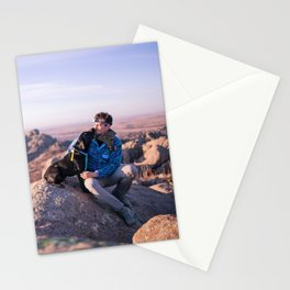 Puppies and Peaks Stationery Cards
