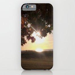 Nine Oclock Sunrise Kenosha iPhone Case