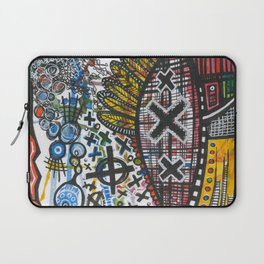 Feathers or Rockets Laptop Sleeve