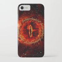 gondor iPhone & iPod Cases featuring Sauron The Dark Lord by neutrone