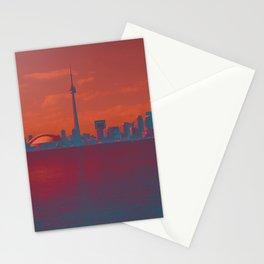 CN Tower skyline Stationery Cards