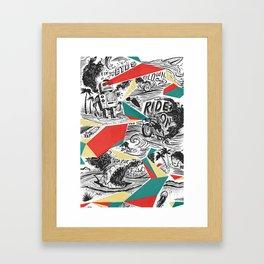 Mechtopia Framed Art Print