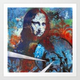 Finding Mona Art Print