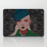 noir iPad Cases featuring Noir by Eveline