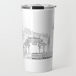 San Francisco by the Downtown Doodler Travel Mug