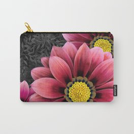 zany flowers Carry-All Pouch