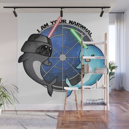 I am your narwhal Wall Mural