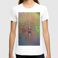 rowing T-shirts featuring Rowing the Rainbow River by benzos