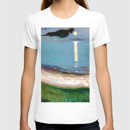 Edvard Munch - Moonlight T-shirt