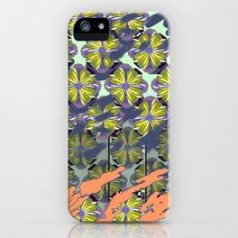 Bali Surf Flower Splash Working Pattern Series iPhone Case