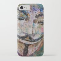 anonymous iPhone & iPod Cases featuring Anonymous by Michael Creese