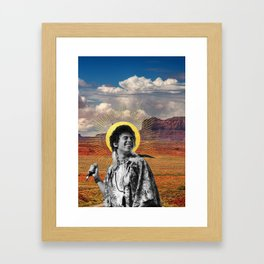 Saint Joshua Michael, Patron Saint of Sunshine Framed Art Print