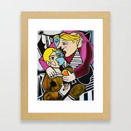 MOTHERS LOVE Framed Art Print