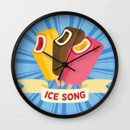 Ice cream song  Wall Clock