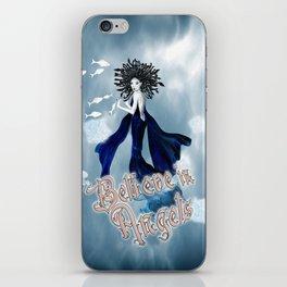 Believe in Angels iPhone Skin