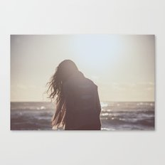 I could not die till I once look'd on you Canvas Print