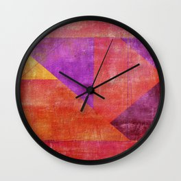 """Moksha"" Inspired by the Guillermo de Llera music. Wall Clock"