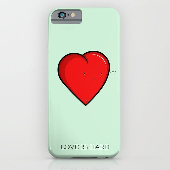 Love is hard... literally iPhone & iPod Case