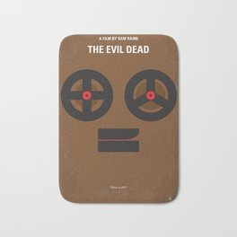 No380 My The Evil Dead minimal movie poster Bath Mat