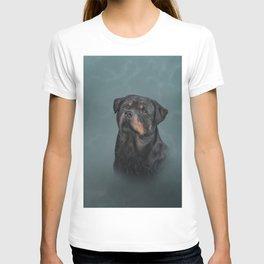 Drawing dog rottweiler 9 T-shirt
