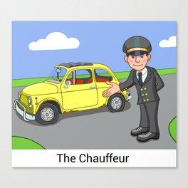 The Chauffeur Canvas Print