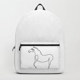 Pablo Picasso, Horse Artwork, Animals Sketch, Prints, Posters, Tshirts, Bags, Men, Women, Kids Backpack
