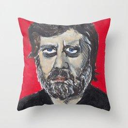 Slavoj Zizek Throw Pillow