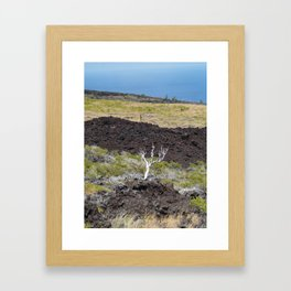 Stuck With This View Framed Art Print