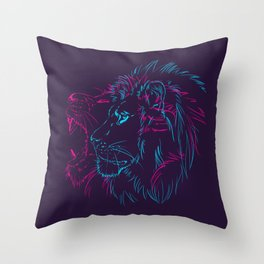 Roar Throw Pillow