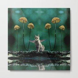 Cat fairy number 1 Metal Print
