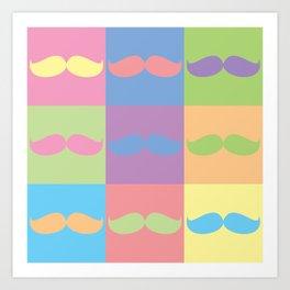 Moustache You Art Print