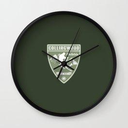Ski Collingwood Ontario Wall Clock