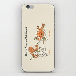 Octobonnet iPhone Skin