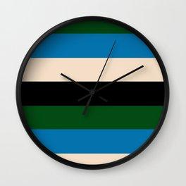 Color Stripe _003 Wall Clock