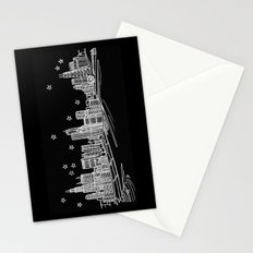 Chicago, Illinois City Skyline Stationery Cards