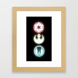May the Factions Be With You!  Framed Art Print