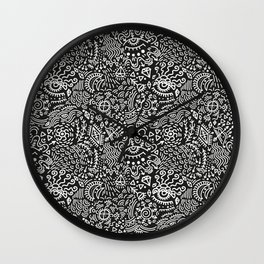 Surreal pattern Wall Clock