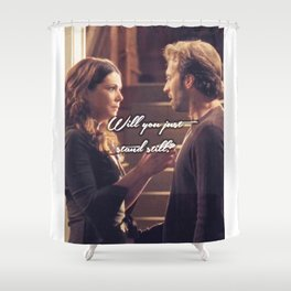 Luke and Lorelai - Stand Still Shower Curtain